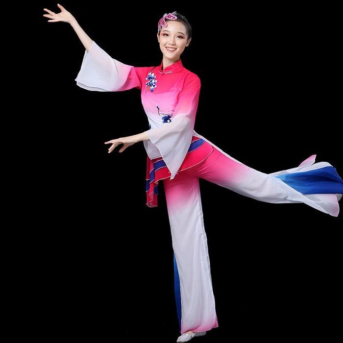 舞蹈服 走秀服 表演服 演出服裝 運動服 古典舞成人秧歌服風酥雨憶演出服扇子舞傘舞練功廣場舞蹈服裝