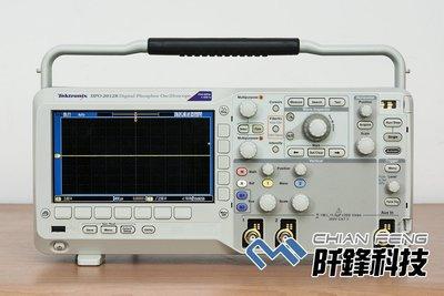 【阡鋒科技 專業二手儀器】太克 Tektronix DPO2012B 100M, 1GS/s 示波器