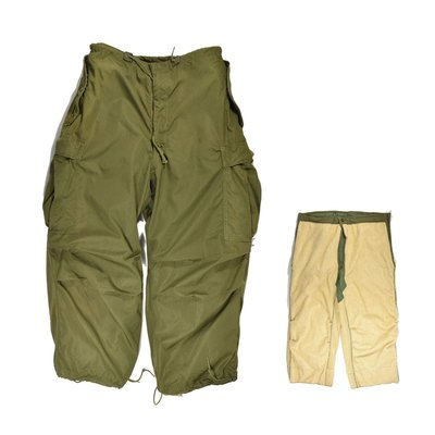 Korean War TROUSER-SHELL ARCITC M-1951 US ARMY Feed Liner 公發