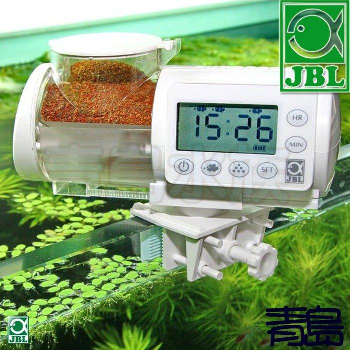 Y。。。青島水族。。。60616德國JBL-自動餵食器(8段調整/防潮/大容量375ml/360度旋轉)=白色