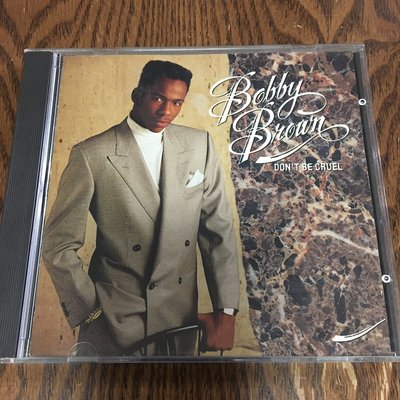 [老搖滾典藏] Bobby Brown-Don't Be Cruel 日版專輯 (盤面細痕, 測試正常)