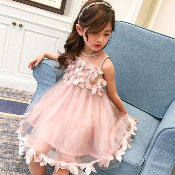 長袖洋裝女童洋裝秋冬裝新款秋冬季兒童公主裙中大童紗裙女