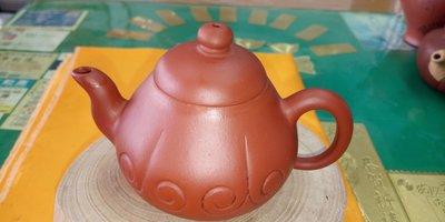 【~Y.W.Y~收藏品】~飲茶人早期收藏~紅泥(如意壺)~歡迎行家鑑賞實品~Y208