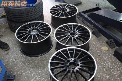 類 AMG C63 18吋 BENZ 黑色 前後配鋁圈 W203 W204 W210 W211 W212 W220 W221 R171