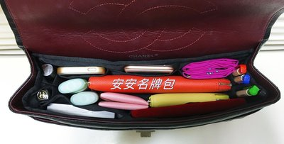 安安名牌包 Chanel 真品 maxi jumbo 香奈兒 黑色 荔枝皮 33cm coco包 真品 內袋 包中包 台南市