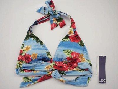 MISHIANA  美國品牌 JAG 女生款後綁式花朵圖案比基尼泳裝(新款上市.特價出售)