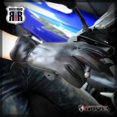 伊摩多※美國 RIVER ROAD Norther Cold Weather Leather Gloves 短手套 保暖