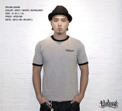 【AXE】UNLEASH-Drunk Again T-Shirt[灰]西岸 潮流 街頭 刺青 SOCAL 老鷹 台牌