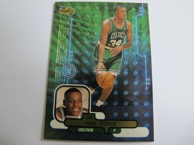 ~ Paul Pierce ~ 1999年UD RC NBA球星/保羅·皮爾斯 金屬新人卡 Rookie