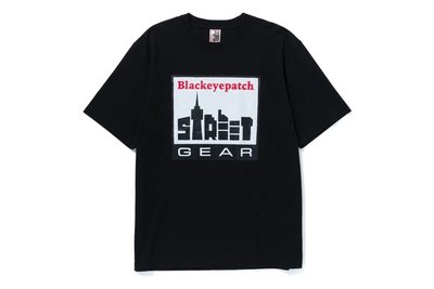 "[ LAB Taipei ] BlackEyePatch "" STREET GEAR TEE (Black)"""