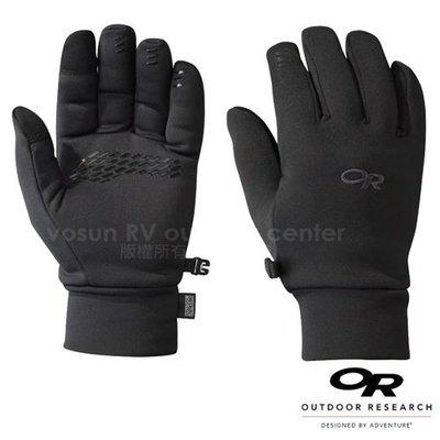大里RV城市【美國 Outdoor Research】男款 PL 400 防風透氣彈性保暖手套_手機觸控手套 70745
