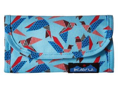 【【蘋果戶外】】KAVU 965-868 紙鳥群 Big Spender 美國潮牌 休閒錢包 皮夾 長夾 潮包 零錢包