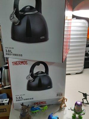 THERMOS 膳魔師 3.0 L 不銹鋼笛音壺 一組 現貨(A022)