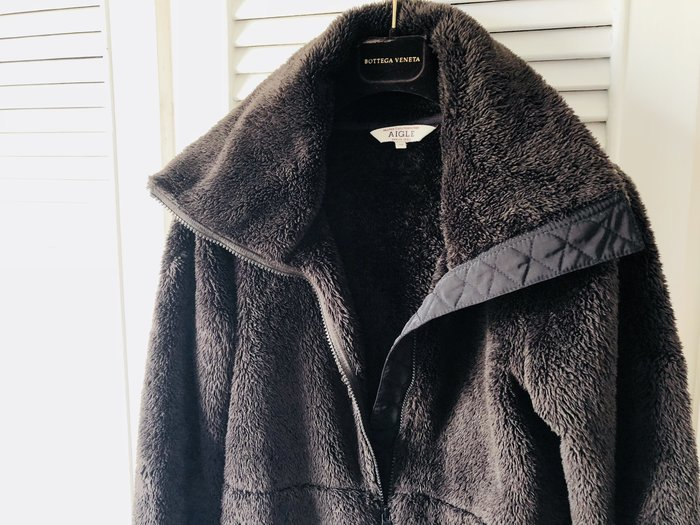 AIGLE  棕熊寶貝超保暖刷毛外套