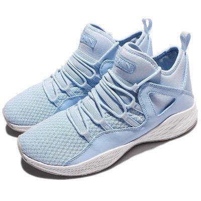 =CodE= NIKE AIR JORDAN FORMULA 23 透氣網襪套皮革籃球鞋(水藍)881465-406 男