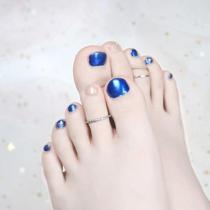腳指甲油 腳趾甲油持久腳防水顯白2瓶組合套裝 LR3081TW