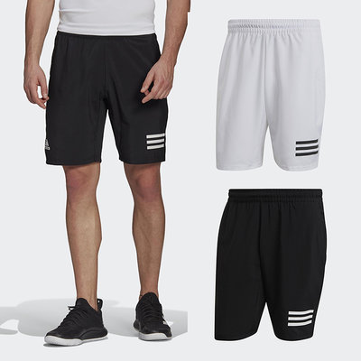 ADIDAS 3-STRIPES  網球短褲 運動短褲 短褲 運動褲 GL5411 GL5412  黑 白 21SS