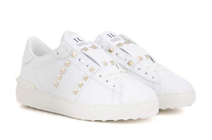 【代購】VALENTINO 鉚釘款 白色休閒鞋 Doris 同款