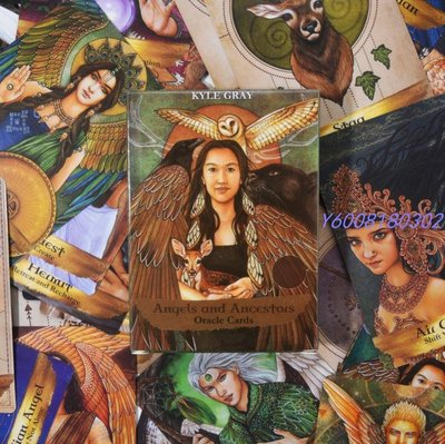 小宅女 Angels and Ancestors 天使與祖先神諭卡 英文版55張Oracle Cards