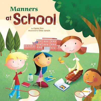 *小貝比的家*MANNER'S AT SCHOOL/平裝/3~6歲/禮儀/ 法治教育