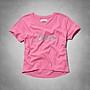 美式風Abercrombie Fitch (a&f)女生短袖T恤...