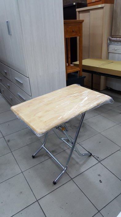 二手家具 台中 樂居全新中古傢俱 BN1217GJJ*全新實木摺疊桌 拜拜桌 會議桌*零碼桌椅 餐桌 電腦桌 書桌麻將桌