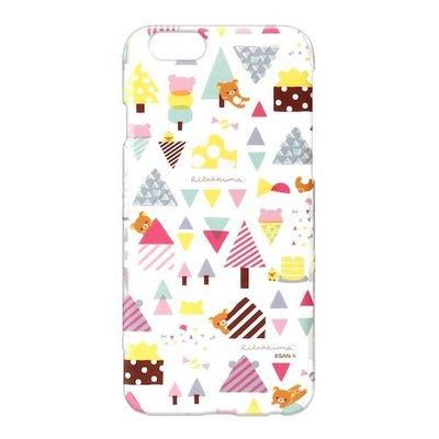 尼德斯Nydus~* 日本正版 San-X 懶熊 拉拉熊 硬殼 4.7吋 手機殼 iPhone 6/6S 冰淇淋款 透明