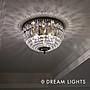【DREAM LIGHTS】新古典風格水晶吸頂燈  Br...