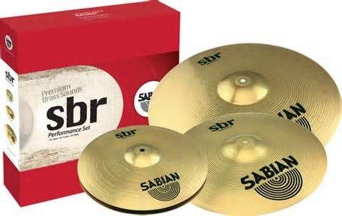 【六絃樂器】全新加拿大 Sabian SBR 套裝銅鈸 超值4片裝 / 黃銅沖壓製作 Solar升級款