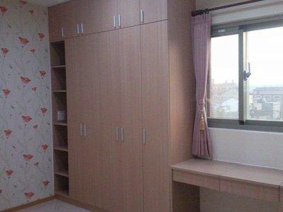 歐雅系統家具 整套系統臥房,化妝枱,書櫃 ,衣櫃特價46000元 系統櫃