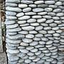 ╭☆雨過天青☆╮天然粉扁石 彩繪石 板岩 石片 抿石子 自己動手彩繪唷~全省批發零售