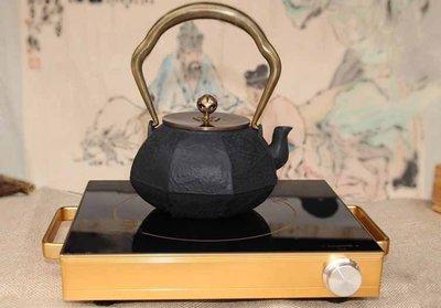 南部鐵器 精裝木製禮盒組 銅把銅蓋(送...