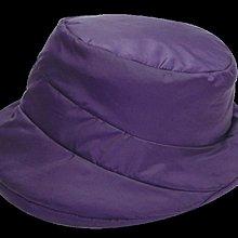 (現貨不用等)妮芙露 負離子AS 039  秋冬保暖外出帽 2020新款 藍紫色
