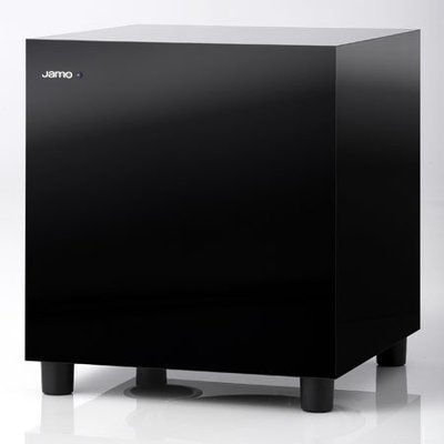 """Jamo (鏡面烤漆版)SUB 210 歐洲第一大廠 國內8""""超低音銷售第一名 比任何同級喇叭更加小巧 200W大出力"""