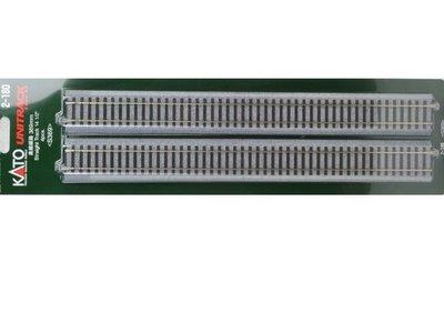 佳鈺精品 kato-2-180-HO直線線路 369mm  (4本入)