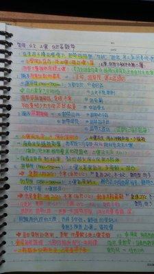 高中升大學【學測、指考】地理科筆記,提供裝訂,並另附彩色文件檔