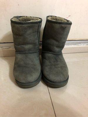 EMU 灰色 毛毛 雪地靴 高筒boot 靴 保暖鞋 38號 超保暖 落雪滑雪鞋首選