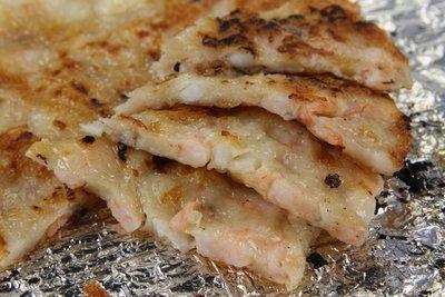【中秋烤肉食材】來點不一樣的~烤澎湖正港月亮蝦餅~誰說烤肉要全部用肉