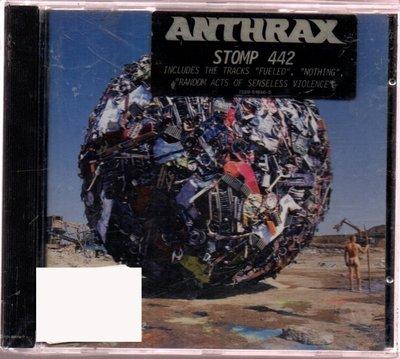 Anthrax Stomp 442 炭疽熱樂團 442號引擎 | 再生工場 03