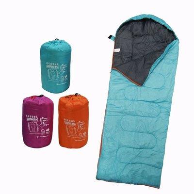 【TreeWalker 露遊】通用舒適保暖睡袋 三色 登山 郊遊 露營 野炊活動