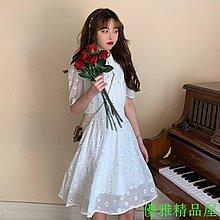 夏季新款大碼微胖妹妹小個子連衣新品裙收腰顯瘦小清新新氣質雪紡裙S05