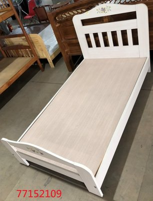 【吉旺二手傢俱生活館】二手/中古 淺色單人床架 鐵製雙層床 樟木色床架組 工業風床組-各式新舊/二手家具 生活家電買賣