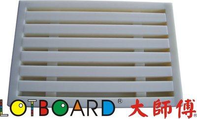 LOTBOARD大師傅-分離式塑膠麵包盒/麵包盤/切麵包板/麵包砧板60*40*8.5 cm(B-03)