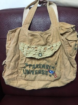 二手 Faraway Universe 肩背包 絕版 沒在用 出清