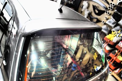 泰山美研社18091924 Nissan March 後尾翼套件組