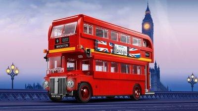1/19現貨到 樂高 LEGO 10258 創意系列 倫敦雙層巴士 全新未拆
