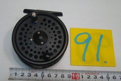 采潔日本二手外匯釣具 OKUMA C516  前打 輪 牛車輪 日本製  二手釣具 釣竿 捲線器 編號   K91