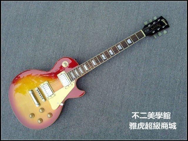 【格倫雅】^輕音少女平澤唯 小唯款 吉普森Gibson standard 日落色LP電