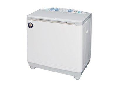 台灣三洋 SW-1068  10公斤雙槽洗衣機 另售SW-11NS3 .SW-12NS6. SW-13NS6