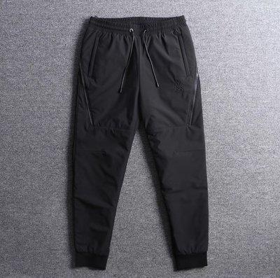 ☆COOKIE@SHELLAC☆2019秋季到貨-設計感斜拉鍊超級簡約乾淨休閒運動褲!!正品!!只有黑色!!